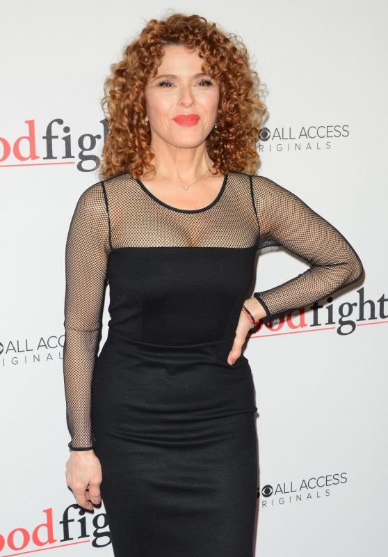 Bernadette Peters – 'The Good Fight' Premiere in New York 2/8/ 2017