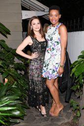 Bethany Joy Lenz – Gemfields Oscars Cocktail Party in Los Angeles, February 2017