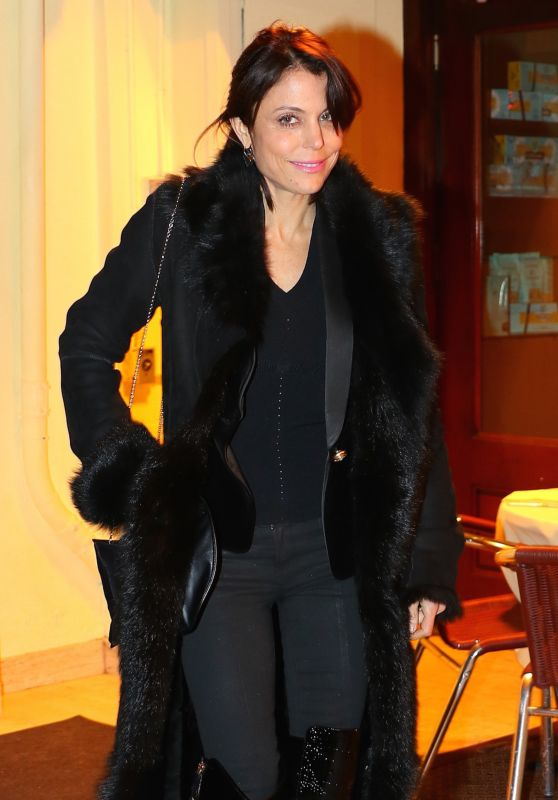 Bethenny Frankel - Heads Out After Dinner at Cipriani in NYC 2/7/ 2017