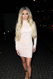 Bianca Gascoigne - at Gaslight Gentlemens Club in London 2/5/ 2017