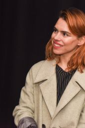 Billie Piper - Becomes Patron of the Shoebox Theatre, Swindon, UK 2/26/ 2017