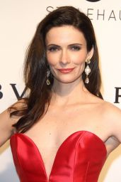 Bitsie Tulloch at Elton John AIDS Foundation Academy Awards 2017 Viewing Party in LA