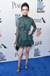 Bitsie Tulloch – Independent Spirit Awards in Santa Monica 2/25/ 2017