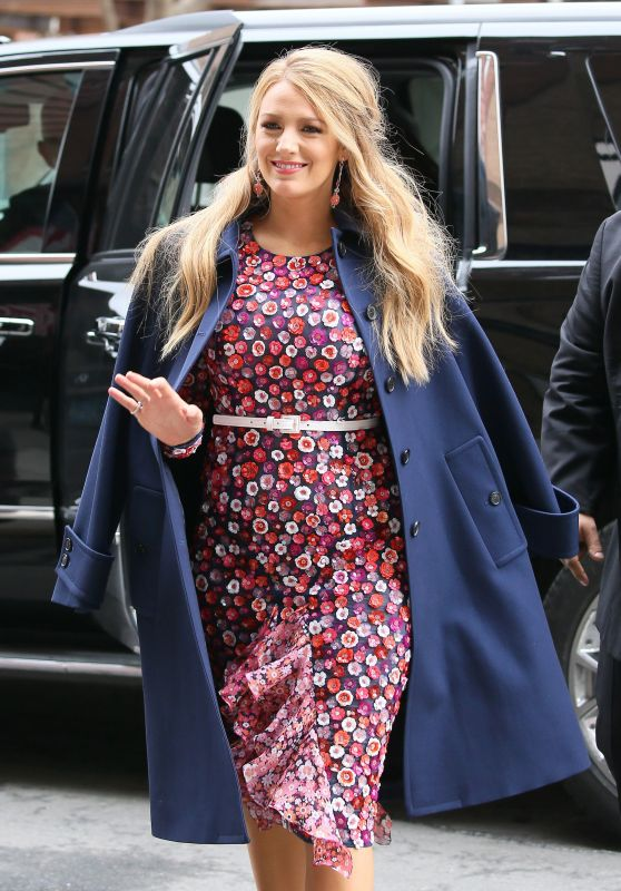 Blake Lively - Leaving Her Hotel in New York City 2/15/ 2017