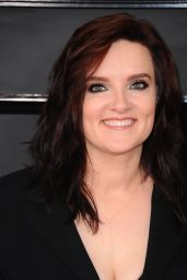 Brandy Clark on Red Carpet – GRAMMY Awards in Los Angeles 2/12/ 2017