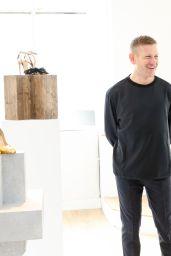 Brec Bassinger - Paul Andrew Presentation at New York Fashion Week 02/11/ 2017