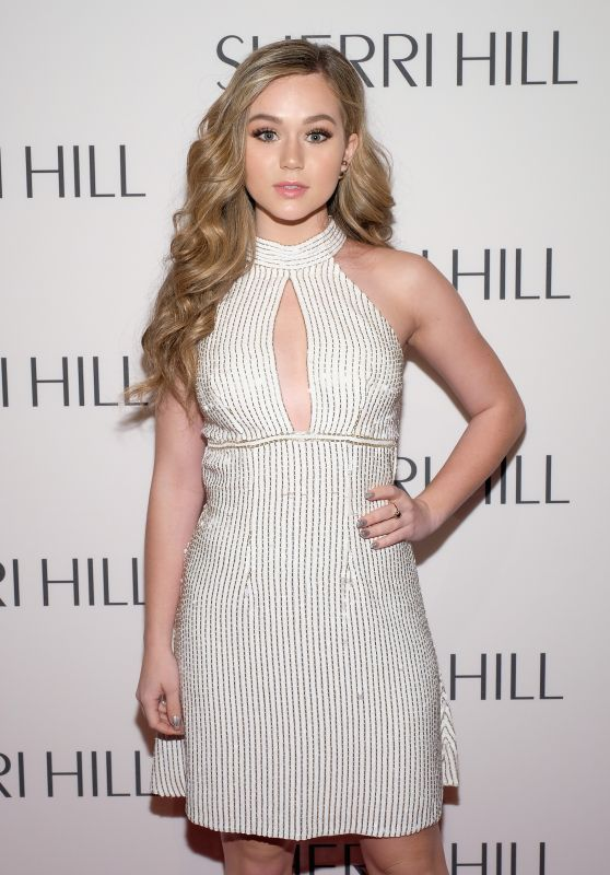 Brec Bassinger - Sherri Hill NYFW Fall 2017 Fashion Show in New York 2/13/ 2017
