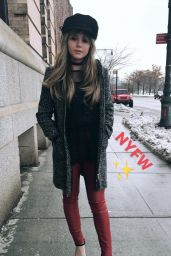 Brec Bassinger - Social Media Pics 2/14/ 2017