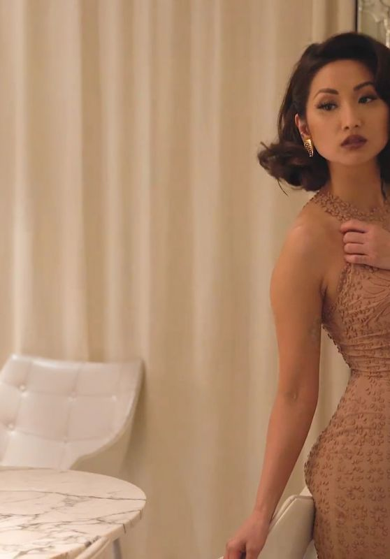 Brenda Song Modeliste Magazine January 2017 Photos