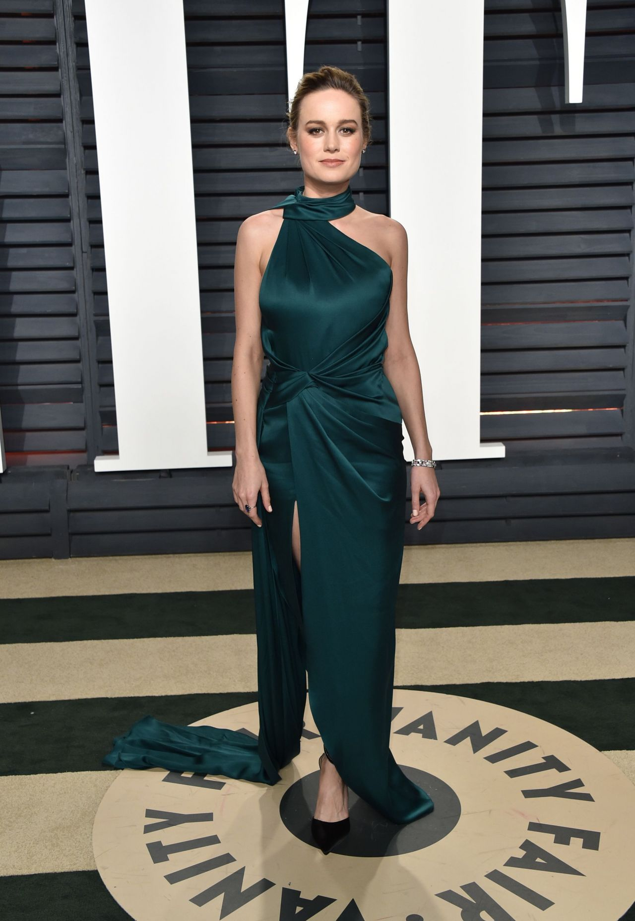 Brie Larson at Vanity Fair Oscar 2017 Party in Los Angeles