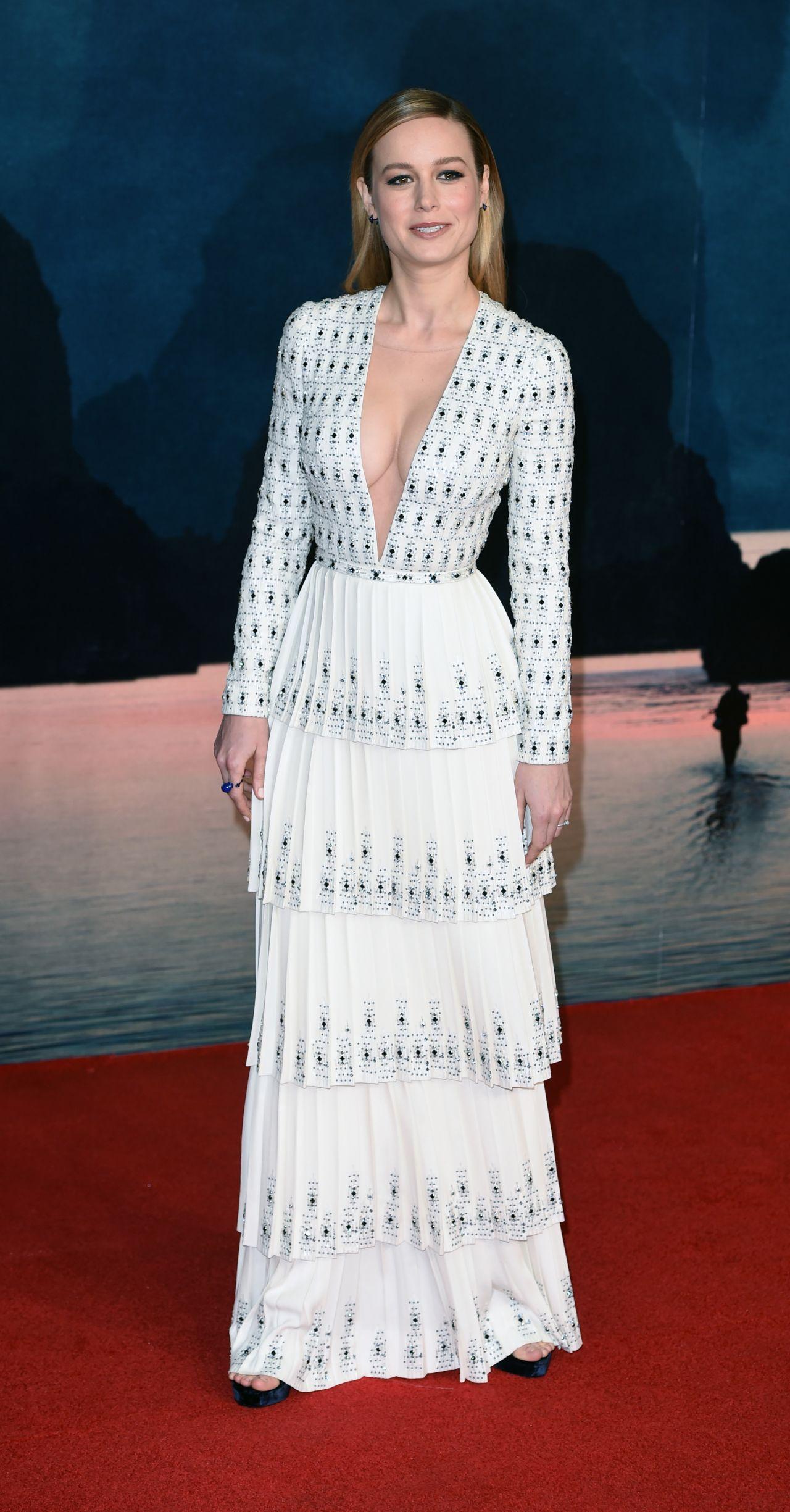 Brie Larson Kong Skull Island Premiere In London 2 28