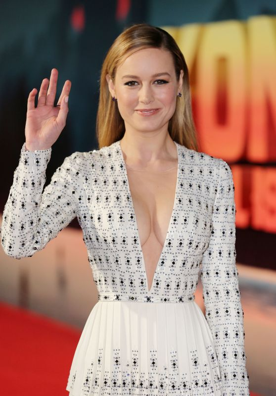 Brie Larson - 'Kong: Skull Island' Premiere in London 2/28/ 2017
