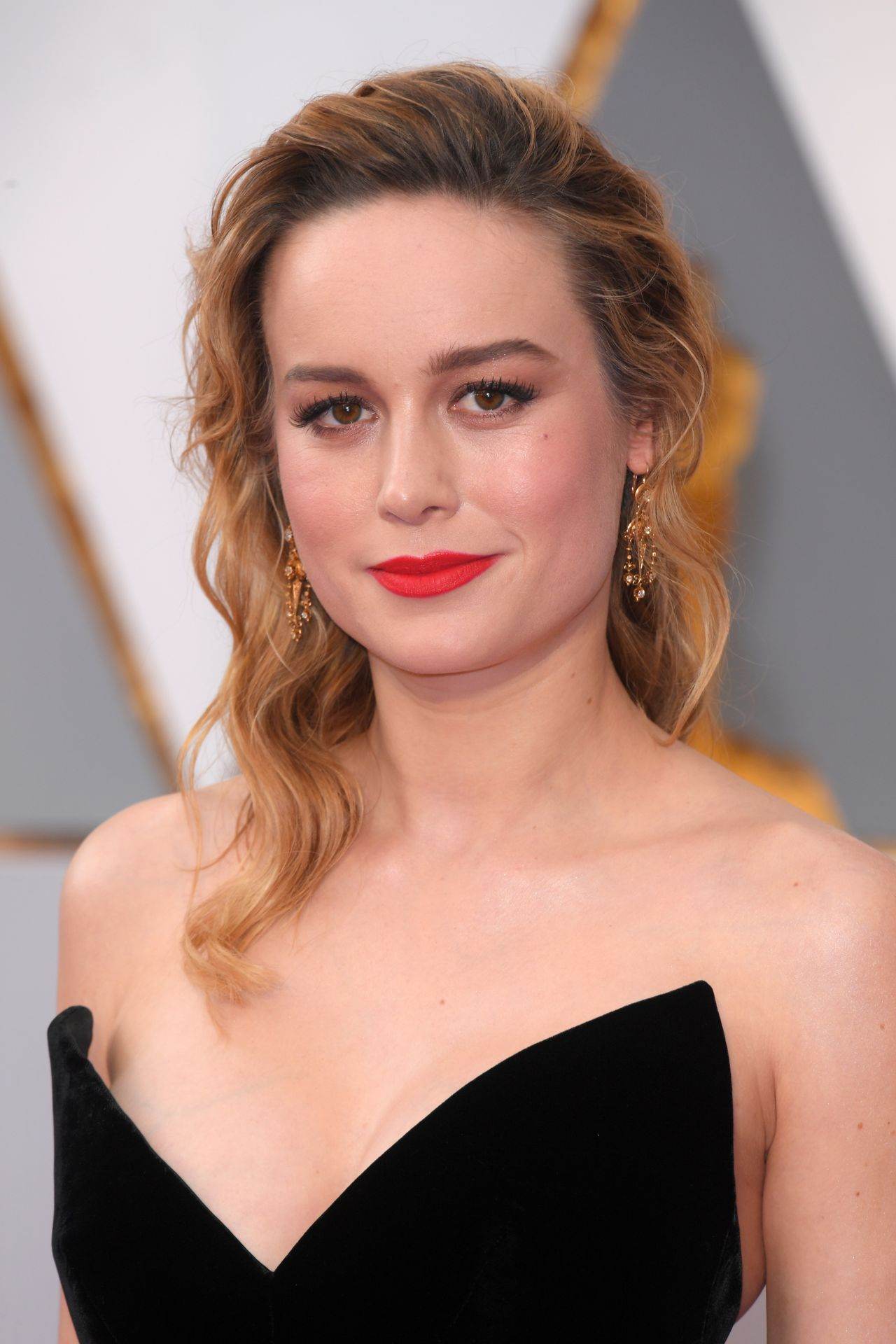 Brie Larson Oscars 2017 Red Carpet In Hollywood