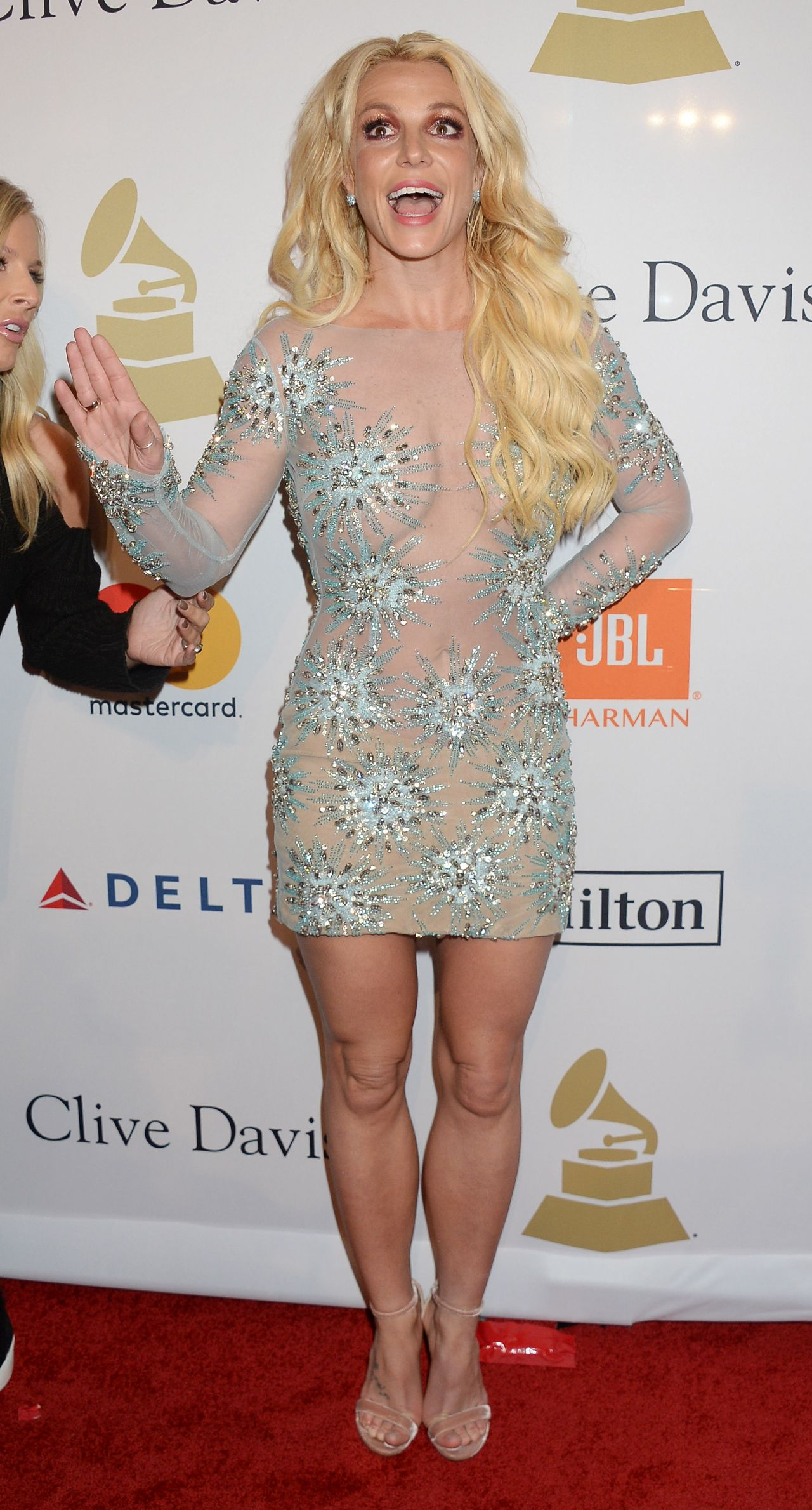 Britney Spears – Clive Davis Pre-Grammy 2017 Party in ...