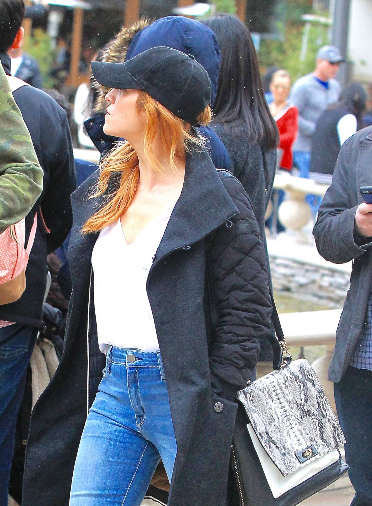 Brittany Snow - Shopping at the Grove in Los Angeles 2/18/ 2017 on the grove madewell, the grove mall, the grove santa, the grove in la, the grove of anaheim,
