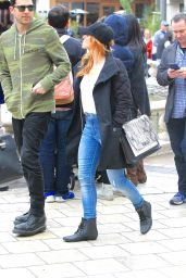 Brittany Snow - Shopping at the Grove in Los Angeles 2/18/ 2017