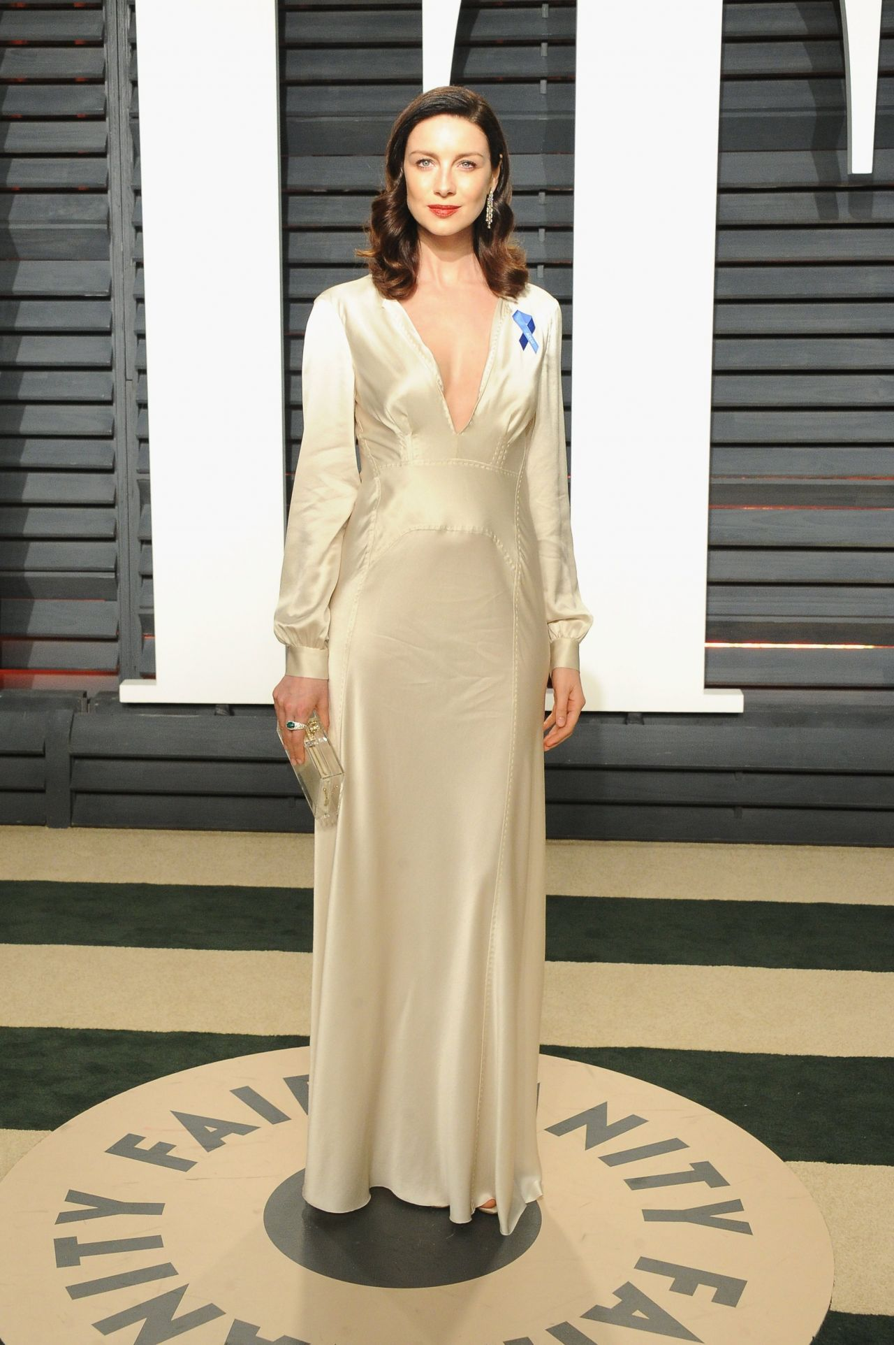 caitriona balfe at vanity fair oscar 2017 in los angeles