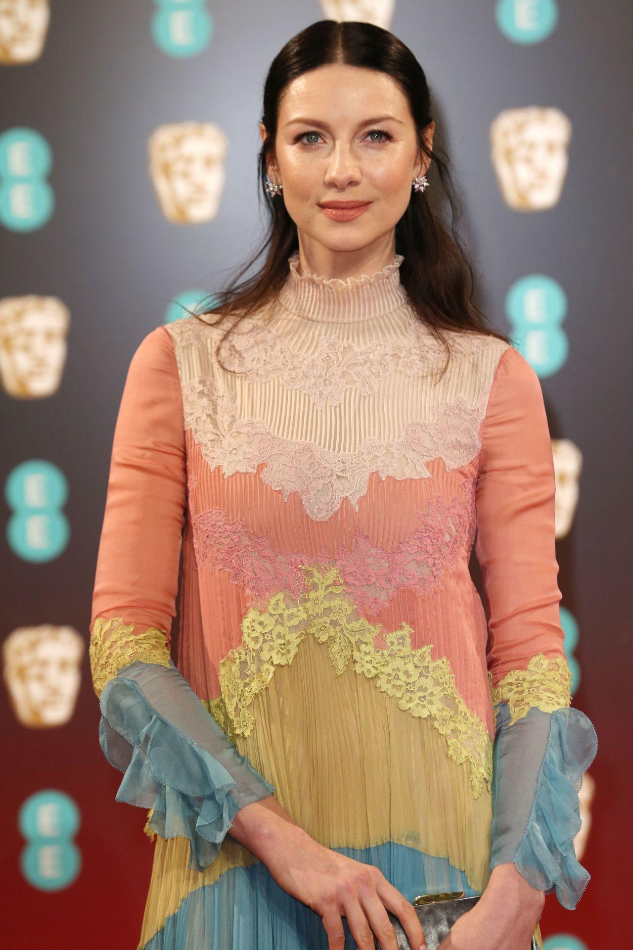 Caitriona Balfe on Red Carpet - BAFTA Awards in London, UK 2/12/ 2017