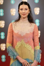 Caitriona Balfe on Red Carpet - BAFTA Awards in London, UK 2/12/ 2017