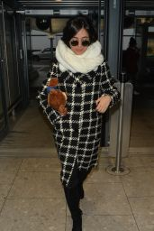 Camila Cabello - Arriving at London Heathrow Airport 2/1/ 2017