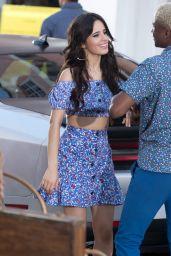 Camila Cabello - Filming a Music Video for J. Balvin