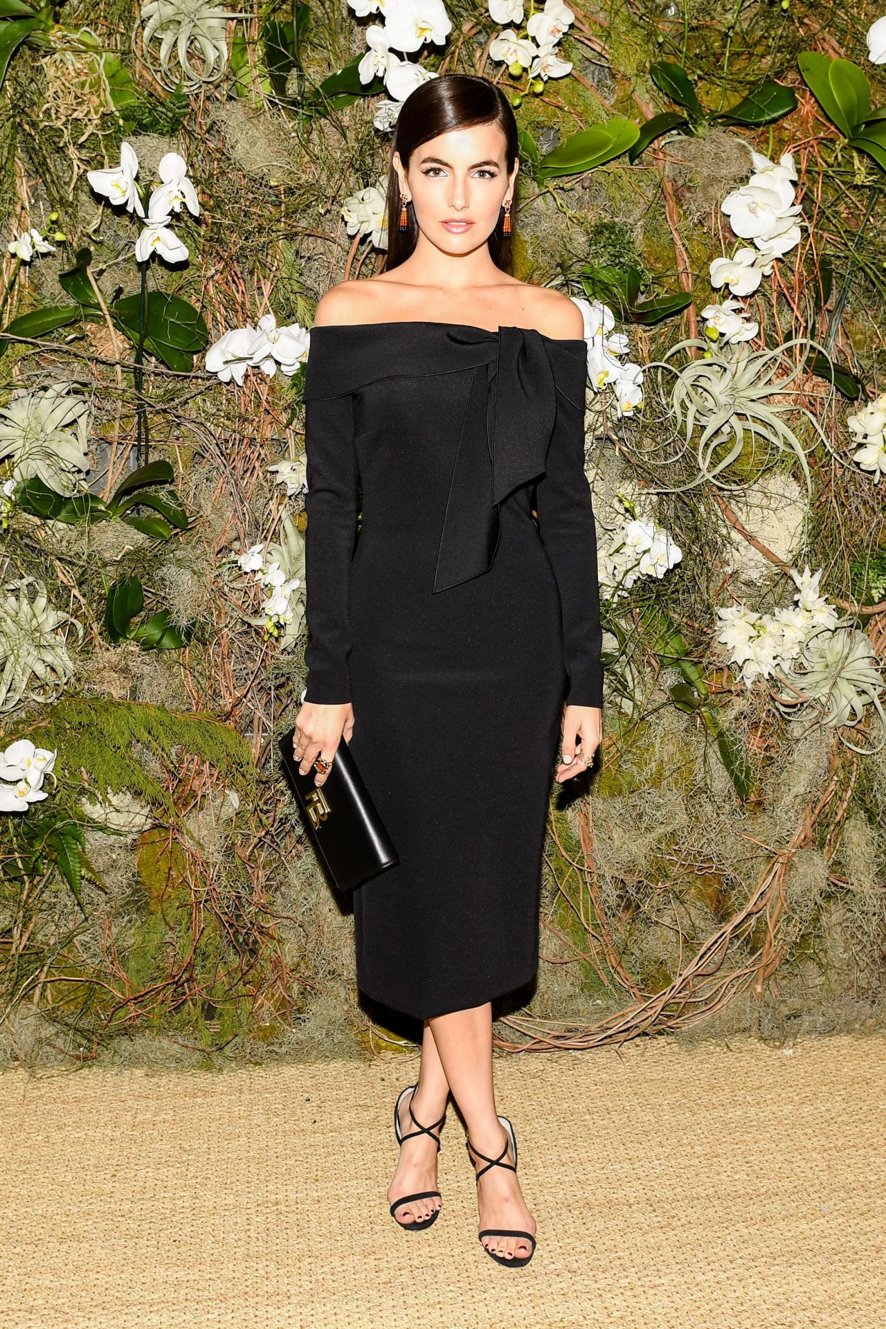 Camilla Belle Ndash Ralph Lauren Fashion Show At New York
