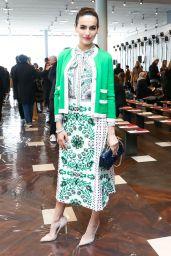 Camilla Belle - Tory Burch Fashion show, Fall Winter 2017, New York Fashion Week 2/14/ 2017