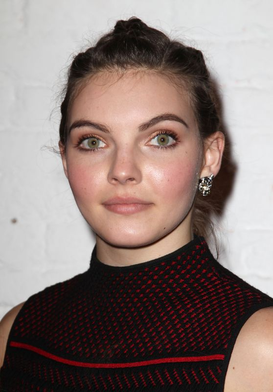 Camren Bicondova – Zac Posen Presentation at New York Fashion Week 2/4/ 2017