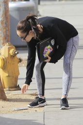 Cara Santana in Tights - Out in Los Angeles 2/2/ 2017