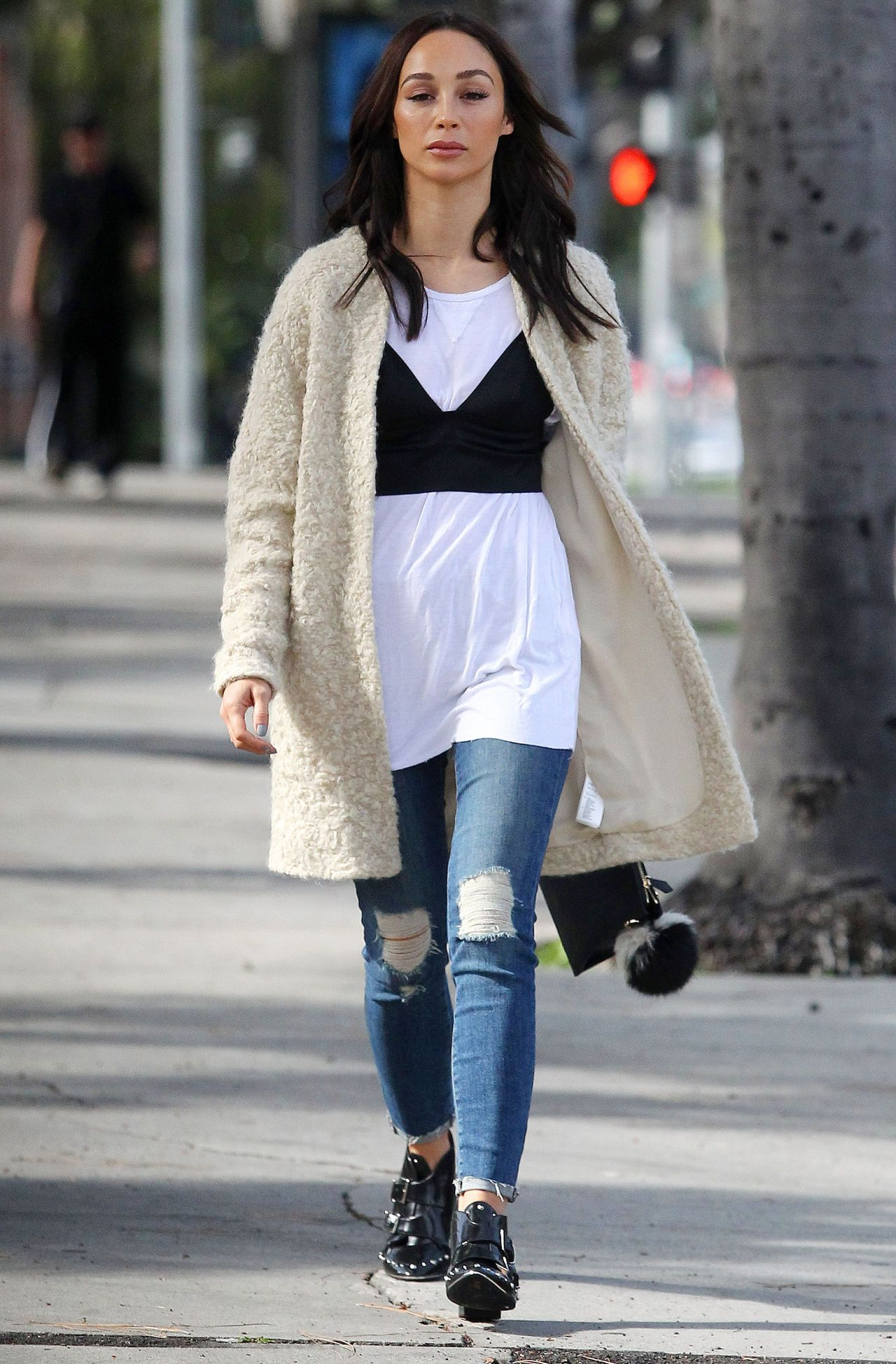 Cara Santana - Out in West Hollywood 2/8/ 2017