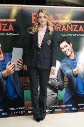 Carolina Crescentini – 'Beata Ignoranza' Photocall in Rome, Italy 2/20/ 2017