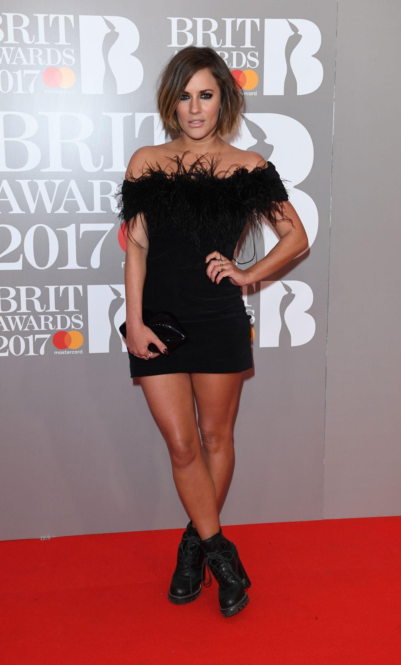 Caroline Flack – The Brit Awards at O2 Arena in London 2 ...