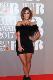 Caroline Flack – The Brit Awards at O2 Arena in London 2/22/ 2017