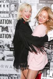 Caroline Vreeland & Shea Marie - X Adaptation Party in Los Angeles, Feb 2017