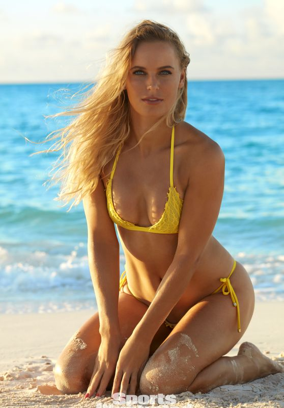 Caroline Wozniacki in Bikini - Sports Illustrated Swimsuit 2017