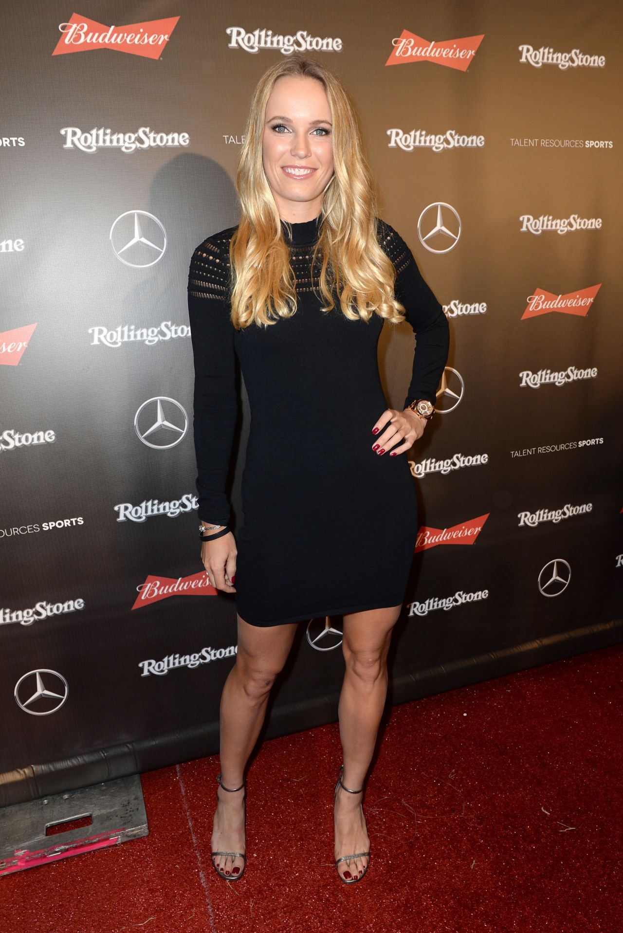 Caroline Wozniacki Rolling Stone Live