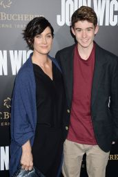 Carrie-Anne Moss – 'John Wick: Chapter 2' Premiere in Los Angeles 1/30/ 2017