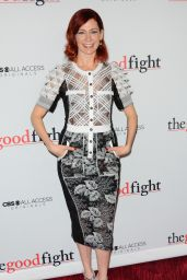 Carrie Preston – 'The Good Fight' Premiere in New York 2/8/ 2017