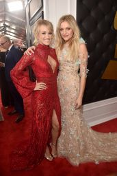 Carrie Underwood and Kelsea Ballerini – GRAMMY Awards in Los Angeles 2/12/ 2017