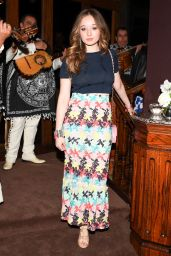 Carson Meyer – Charles Finch and Chanel Annual Pre-Oscar Awards Dinner in Beverly Hills 2/25/ 2017