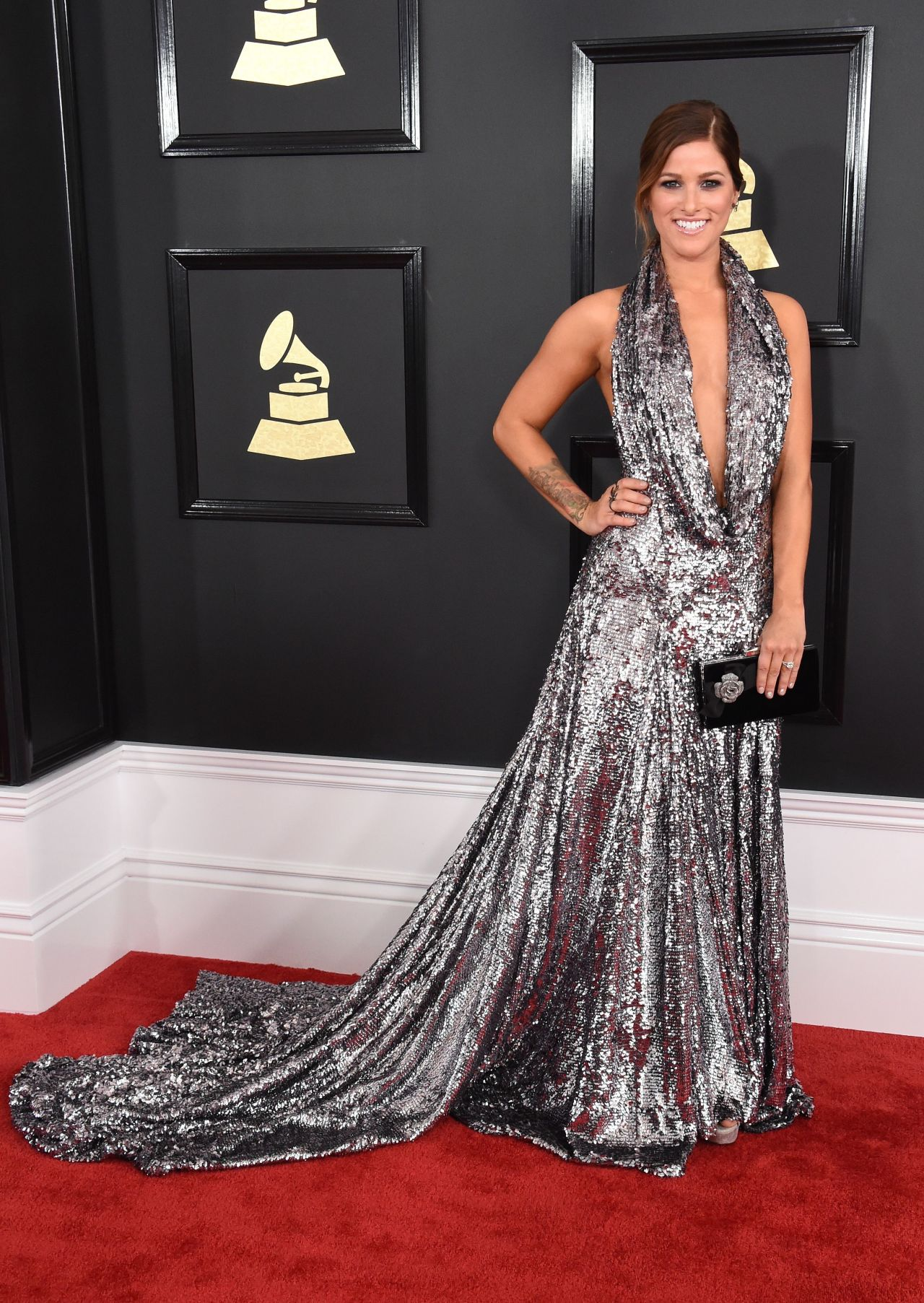 Image: Cassadee Pope on 2017 Grammy