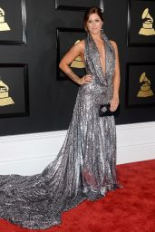 Cassadee Pope on Red Carpet – GRAMMY Awards in Los Angeles 2/12/ 2017