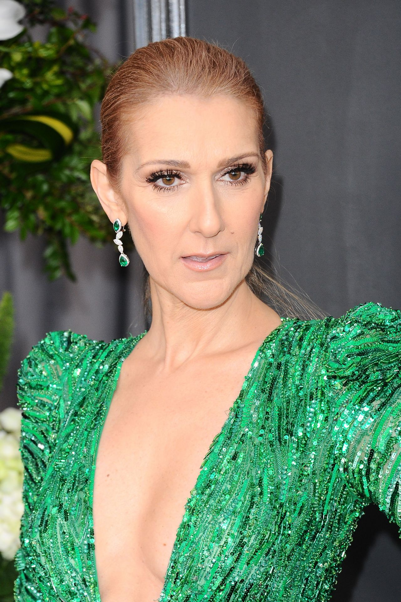 Celine Dion on Red Carpet – GRAMMY Awards in Los Angeles 2 ...
