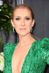Celine Dion on Red Carpet – GRAMMY Awards in Los Angeles 2/12/ 2017