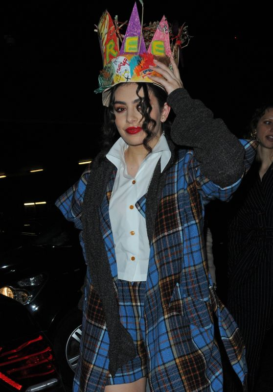 Charli XCX at Fabric in London 2/20/ 2017