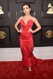 Charli XCX on Red Carpet – GRAMMY Awards in Los Angeles 2/12/ 2017