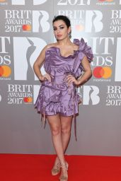 Charli XCX on Red Carpet – The Brit Awards at O2 Arena in London 2/22/ 2017