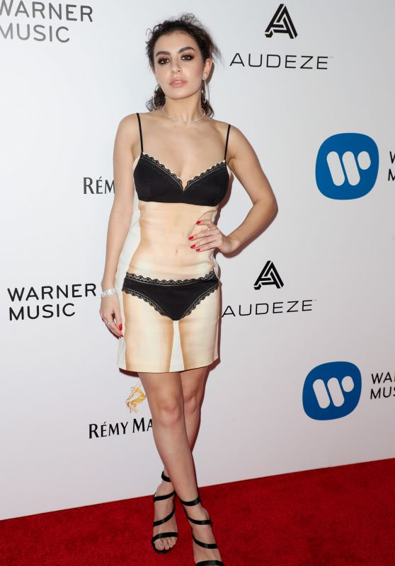 Charli XCX - Warner Music Group Grammy After Party in LA 2/12/ 2017