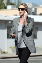 Charlize Theron Casual Style - Out in Beverly Hills 2/1/ 2017