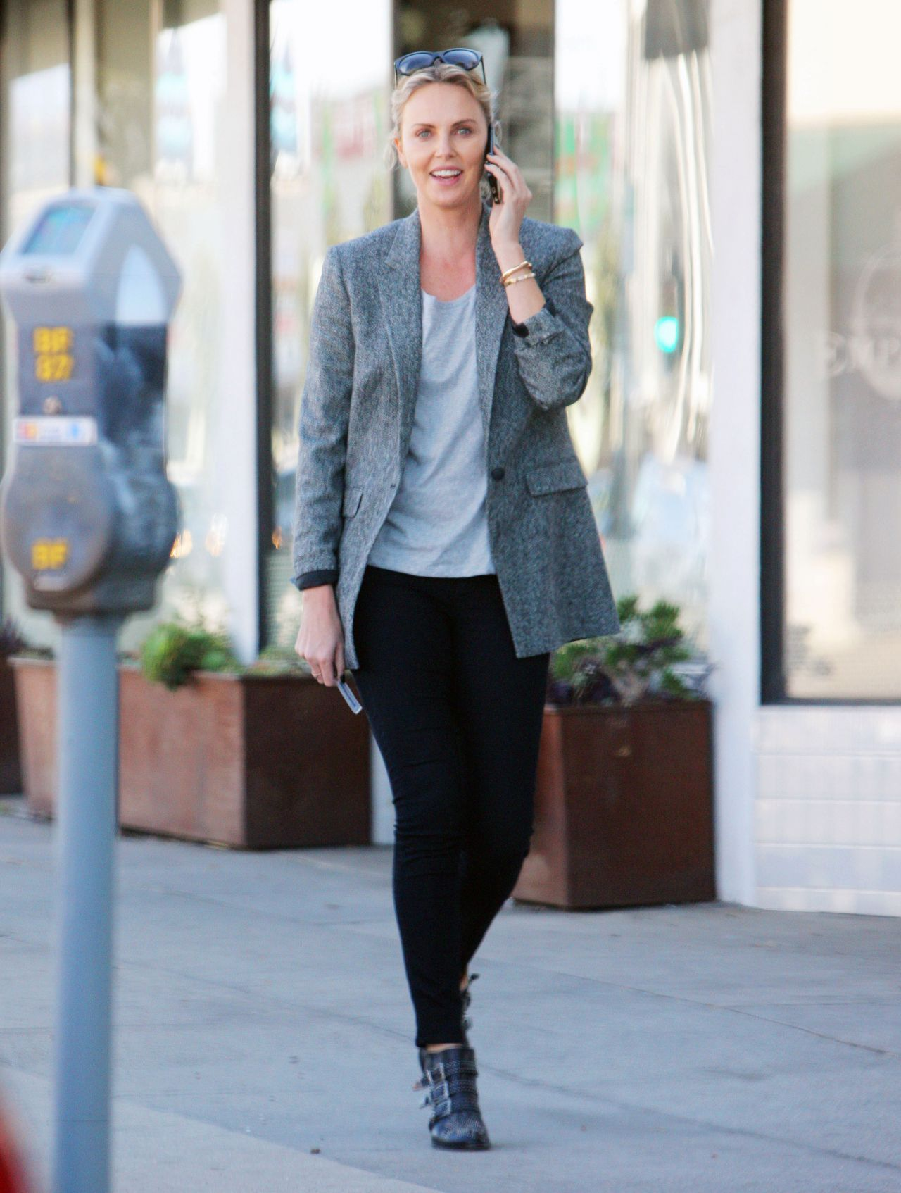 Charlize theron casual style